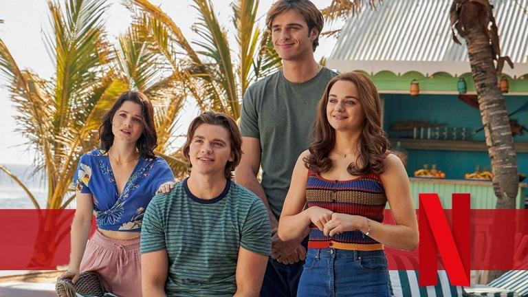 The Kissing Booth 3 on Netflix