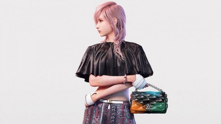 Louis Vuitton invited himself to the famous JRPG franchise