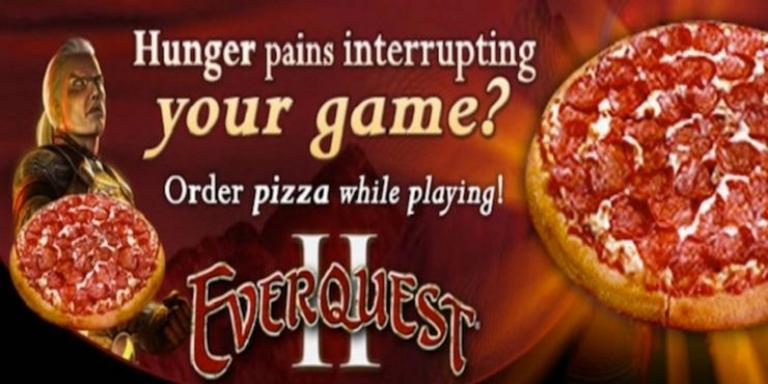It was enough to enter / pizza to receive a pizza