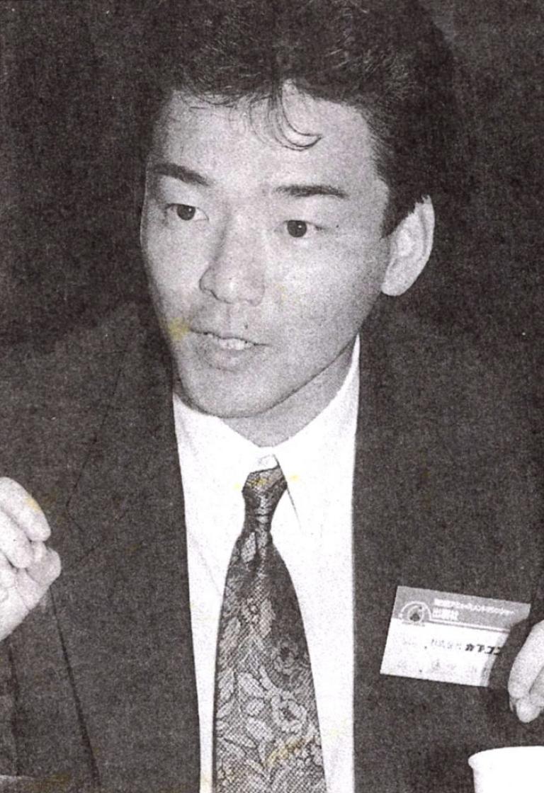 Tokuro Fujiwara in his early days