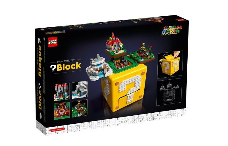 The new LEGO Block set?