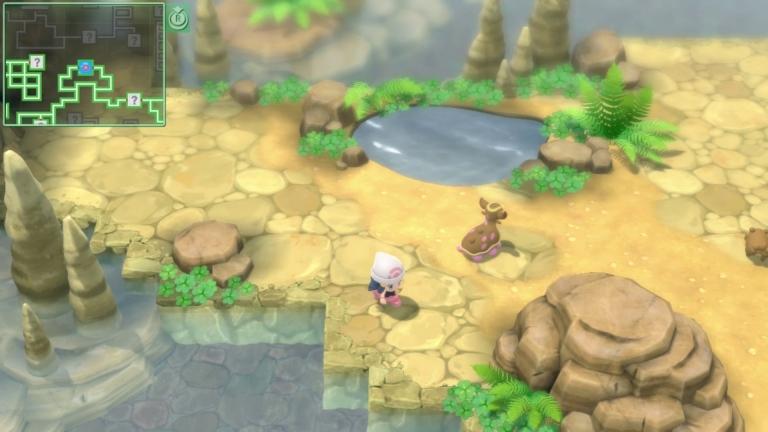Pokémon hideouts look cool to explore